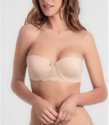 Sujetador PLAYTEX Strapless Flower Elegance 8GC