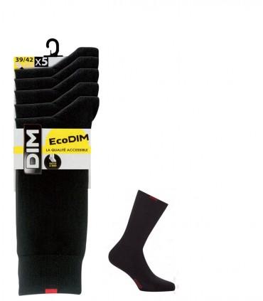 Pack 5 pares calcetines DIM 4CU
