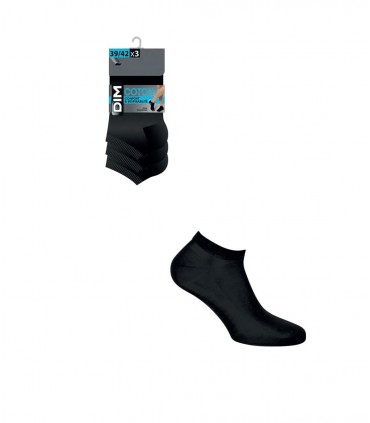 Pack de 3 Calcetines invisibles DIM 54D